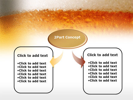 Beer Tumbler PowerPoint Template, Slide 4, 00750, Food & Beverage — PoweredTemplate.com