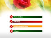 Strawberry Cake PowerPoint Template#3