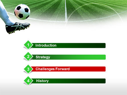 Football Field PowerPoint Template Slide 3