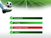 Football Field PowerPoint Template#3