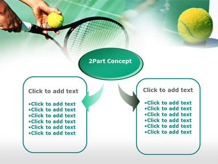 Tennis Court PowerPoint Template, Slide 4, 00754, Sports — PoweredTemplate.com