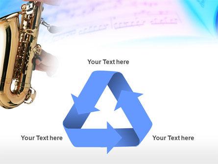 Jazz Saxophone PowerPoint Template Slide 10