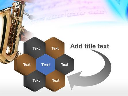 Jazz Saxophone PowerPoint Template Slide 11