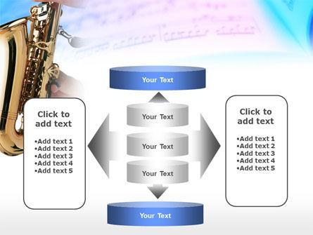Jazz Saxophone PowerPoint Template Slide 13