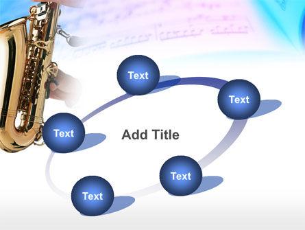 Jazz Saxophone PowerPoint Template Slide 14