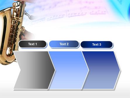 Jazz Saxophone PowerPoint Template Slide 16