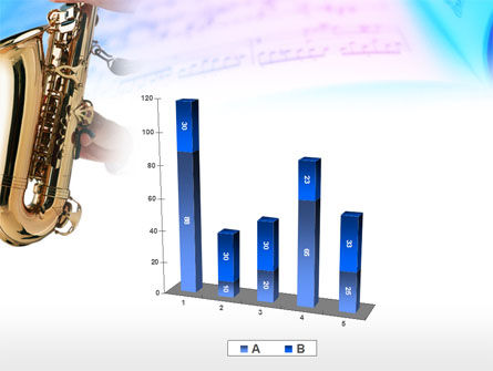 Jazz Saxophone PowerPoint Template Slide 17