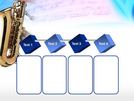 Jazz Saxophone PowerPoint Template Slide 18