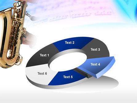 Jazz Saxophone PowerPoint Template Slide 19