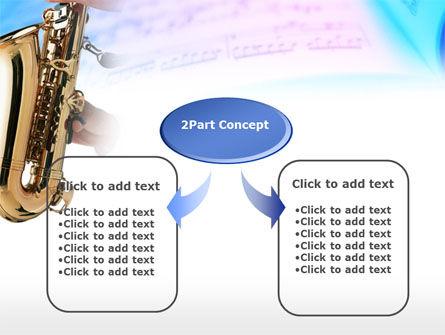 Jazz Saxophone PowerPoint Template Slide 4