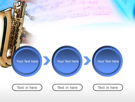 Jazz Saxophone PowerPoint Template Slide 5