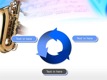 Jazz Saxophone PowerPoint Template Slide 9