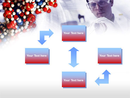 DNA Experiments PowerPoint Template, Slide 4, 00758, Technology and Science — PoweredTemplate.com