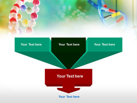 DNA PowerPoint Template, Slide 3, 00759, Technology and Science — PoweredTemplate.com