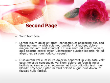 Romantic Present PowerPoint Template Slide 2