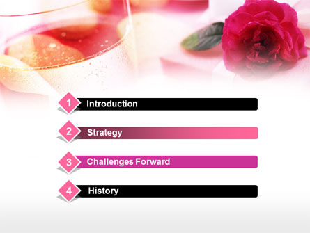 Romantic Present PowerPoint Template Slide 3