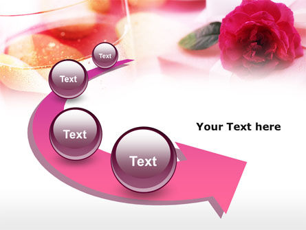 Romantic Present PowerPoint Template Slide 6
