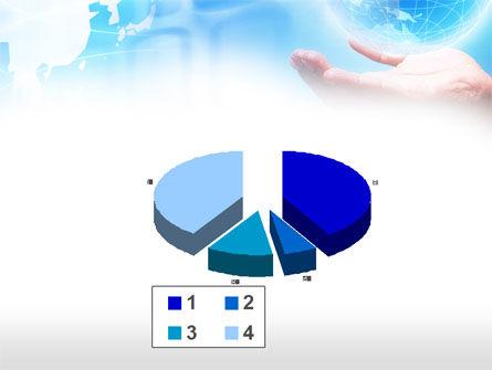 Crystal Globe PowerPoint Template Slide 17