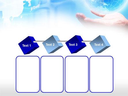 Crystal Globe PowerPoint Template Slide 18