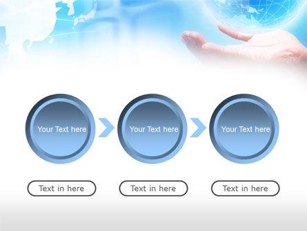 Crystal Globe PowerPoint Template Slide 5