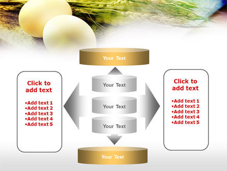 Eggs and Cereals PowerPoint Template Slide 13