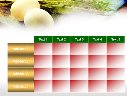 Eggs and Cereals PowerPoint Template Slide 15