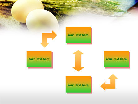 Eggs and Cereals PowerPoint Template, Slide 4, 00764, Food & Beverage — PoweredTemplate.com