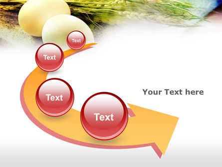 Eggs and Cereals PowerPoint Template Slide 6