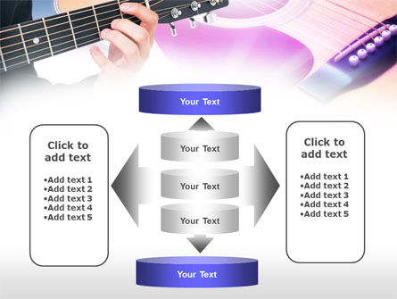 Guitar Lessons PowerPoint Template Slide 13