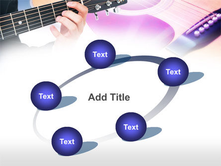 Guitar Lessons PowerPoint Template Slide 14