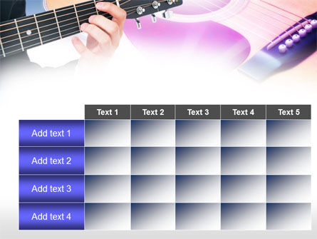 Guitar Lessons PowerPoint Template Slide 15