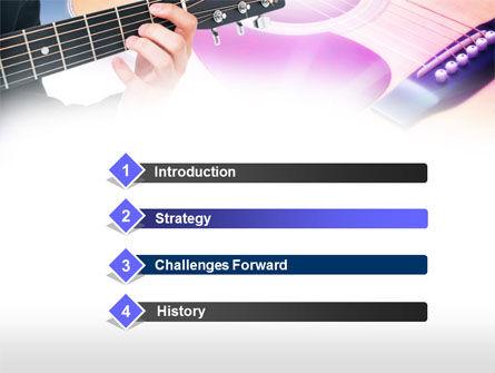 Guitar Lessons PowerPoint Template, Slide 3, 00765, Art & Entertainment — PoweredTemplate.com