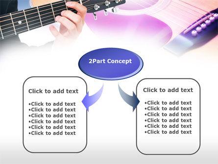 Guitar Lessons PowerPoint Template, Slide 4, 00765, Art & Entertainment — PoweredTemplate.com