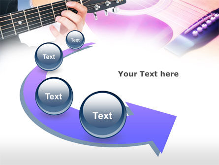 Guitar Lessons PowerPoint Template Slide 6