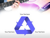 Guitar Lessons PowerPoint Template#10