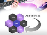 Guitar Lessons PowerPoint Template#11