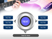 Guitar Lessons PowerPoint Template#12