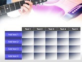 Guitar Lessons PowerPoint Template#15