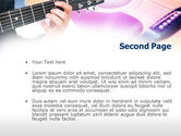 Guitar Lessons PowerPoint Template#2