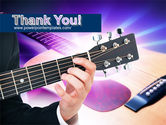 Guitar Lessons PowerPoint Template#20
