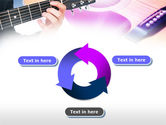 Guitar Lessons PowerPoint Template#9