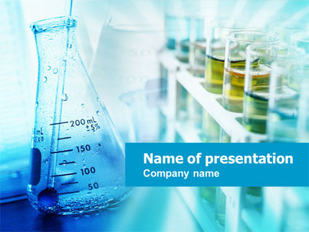 Medical Lab PowerPoint Template, 00767, Medical — PoweredTemplate.com
