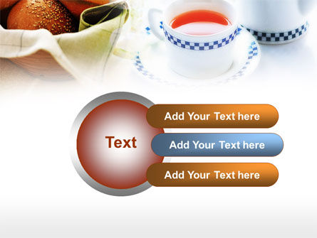 Morning Tea PowerPoint Template Slide 12