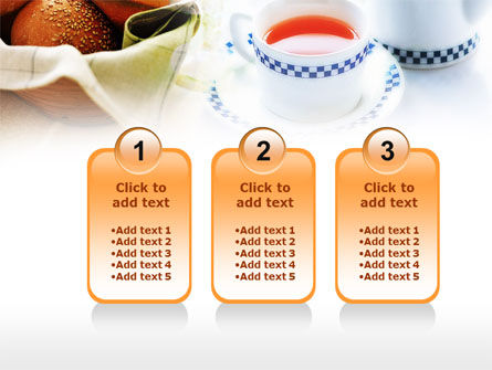 Morning Tea PowerPoint Template Slide 16