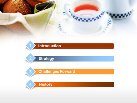 Morning Tea PowerPoint Template, Slide 3, 00771, Food & Beverage — PoweredTemplate.com