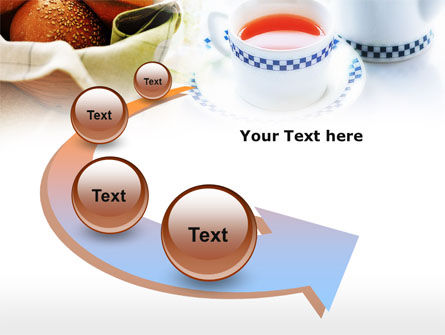Morning Tea PowerPoint Template Slide 6