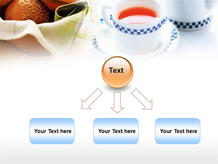 Morning Tea PowerPoint Template Slide 8