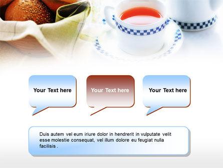 Morning Tea PowerPoint Template Slide 9