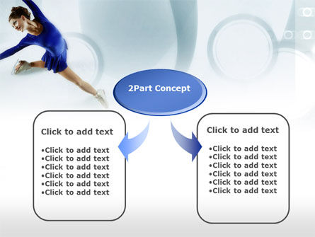 Figure Skating PowerPoint Template, Slide 4, 00774, Sports — PoweredTemplate.com