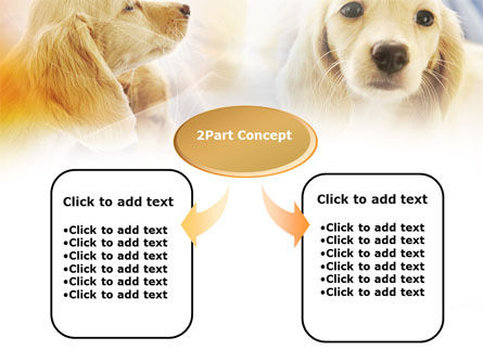 Puppies PowerPoint Template, Slide 4, 00775, Animals and Pets — PoweredTemplate.com